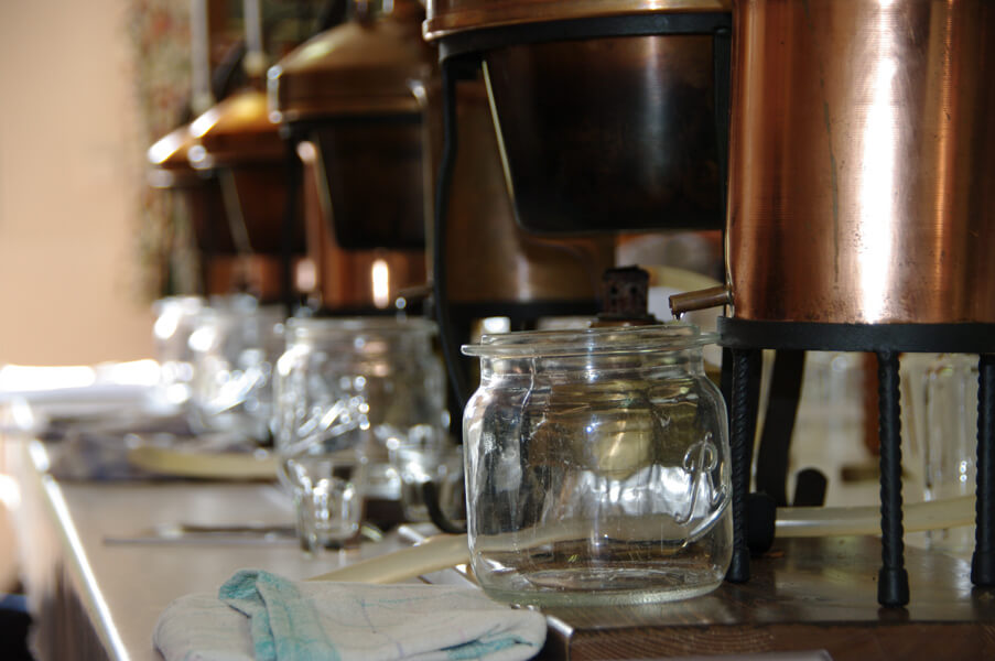 Homemade distilled spirits: hands-on workshop and online course